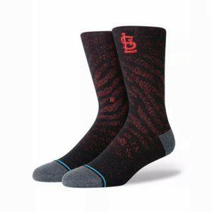 Stance MLB St. Louis Cardinals Socks Men's Size L